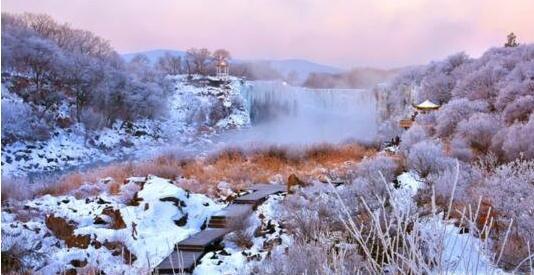 中国最美冰瀑