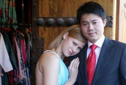 俄美女与中国男人幸福生活