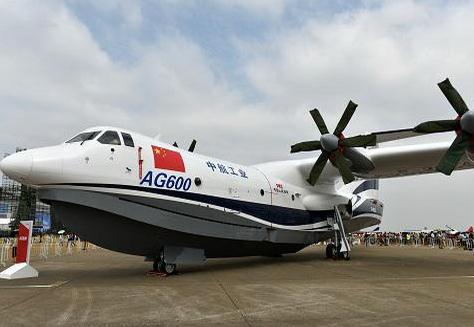 """中国""""蛟龙""""ag600水上飞机将于5月"""