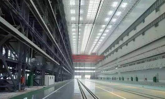 港媒:中国核潜艇工厂罕见曝光 世界之最