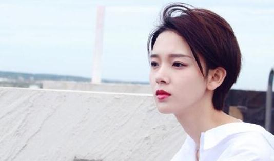 陈瑶斜刘海短发分享展示