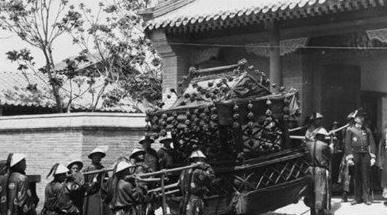 晚清罕见历史老照片 清朝婚礼场面浩大 组图图片