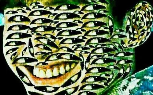张翰眼睛密集图千万不要乱看,让人头皮发麻(图)