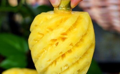 买菠萝时记好这5招随便挑,一挑一个甜
