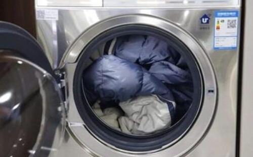 洗衣机毁羽绒服?牌子货得这么清洗