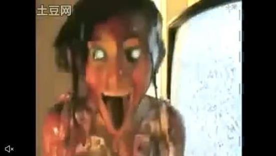 重慶最美女孩嚇人圖片:膽小的千萬不要亂進