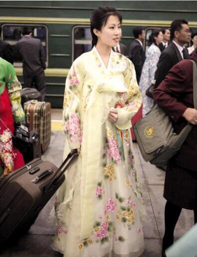 朝鮮第一美女鄭美香:朝鮮國寶級美女圖片大全