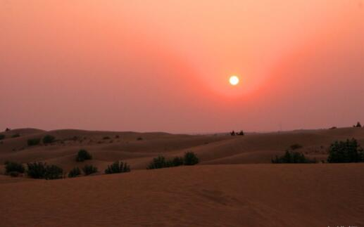 世界上天气最热的十个国家排名,平均温度57.8°C