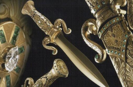 世界上最贵的十大名刀,博阿滕军刀竟达770万美元