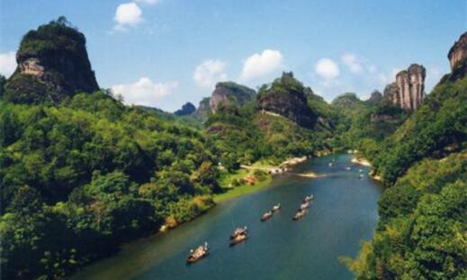 福建十大热门旅游景点排行榜,厦门鼓浪屿最受欢迎