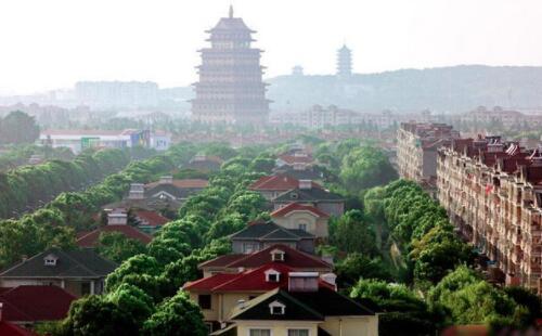 中國十大最美鄉村榜單出爐,華西村被譽為天下第一村