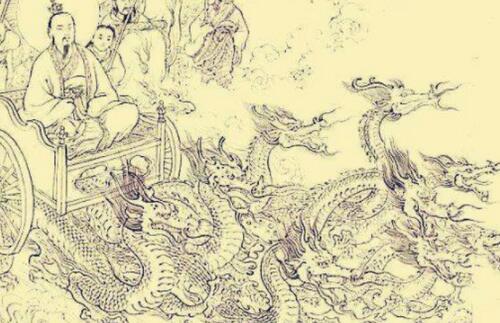 中國上古時代十大坐騎排行榜,七彩祥云排第一