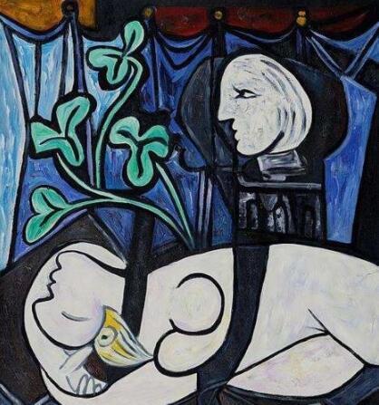 毕加索十幅最贵最经典的作品赏析,最高纪录1.79亿美元