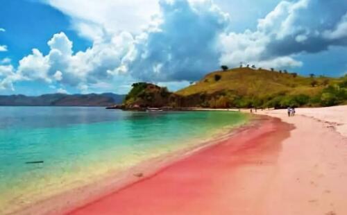 盘点世界上最美的沙滩:少女心炸裂的粉色沙滩(图)