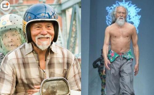 全球最帅20位男模盘点:81岁王德顺身材逆天(图)