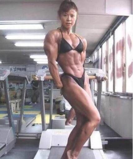 日本健美女神神田知子,肌肉与美貌的并存(图)
