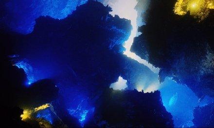 世界上最大单体溶洞石柱,九天洞不愧是世界第一大洞