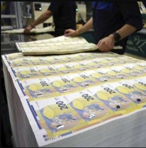 世界最大印钞厂发出破产警告:为140个国家印制钞票
