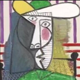 价值1.8亿元毕加索名画被撕,《女子半身像》还能看到吗