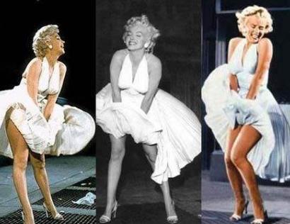 玛丽莲梦露和伊丽莎白泰勒竟然睡过,梦露经典捂裙子动作