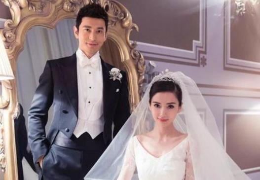 黄晓明baby结婚5周年无互动,再此引发离婚传闻