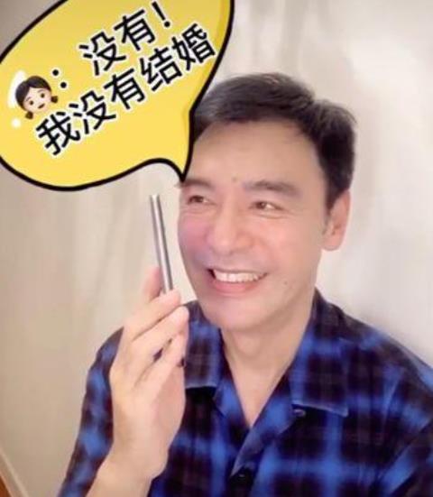 钟镇涛否认女儿结婚称美丽的误会,乌龙背后真脸上还露着狞笑相来了